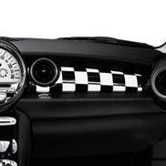 Dashboard Checkered Flag Mini Coupe Checkered Flag Mini Cooper Graphics