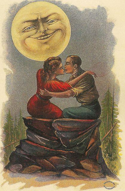 Bella Luna Valentine Postcard | Totally Lunar | Pinterest
