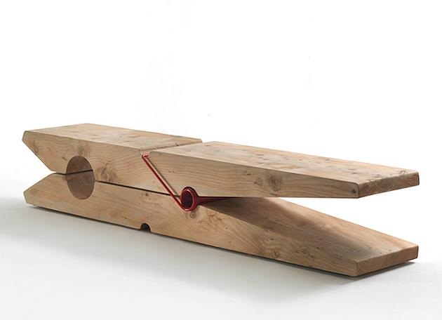 Unusual Indoor Benches: 25 Unique Wooden Designs | Bench, Wood ...