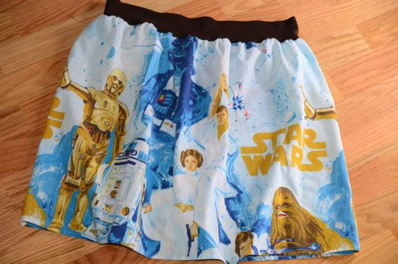Upcycled Star Wars Skirt A New Hope  Made To by FoofAndCompany, $40.00