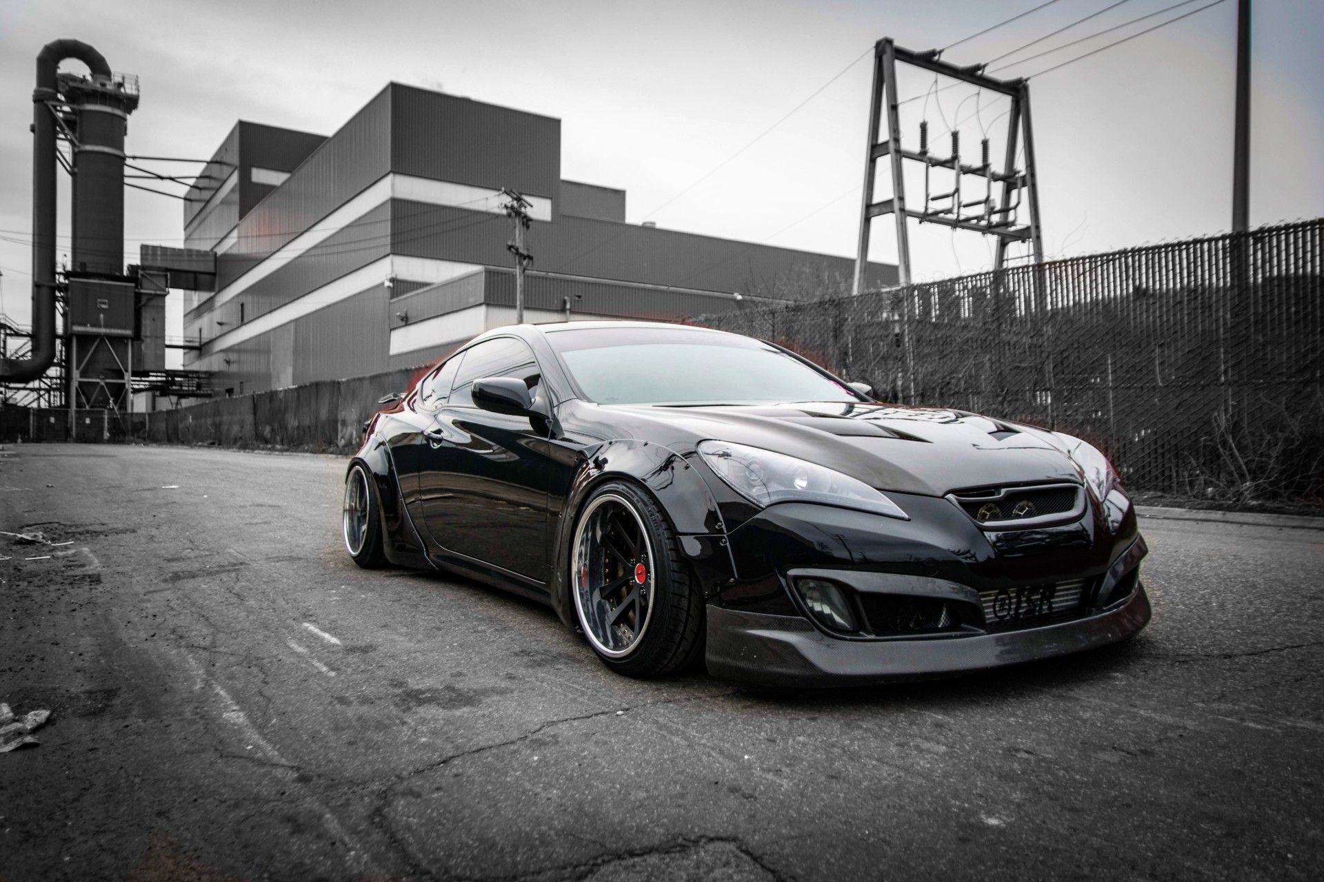 Widebody Kit V 2 For Hyundai Genesis Coupe For Hyundai Genesis Coupe Monsterservice Hyundai Genesis Coupe Hyundai Genesis Hyundai