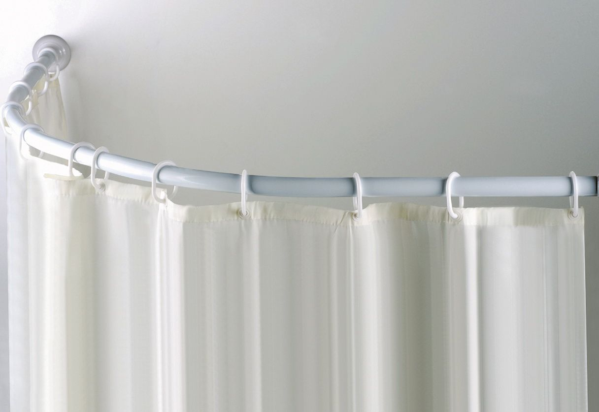 The Customized Bay Window Curtain Rod Can Further Add To The