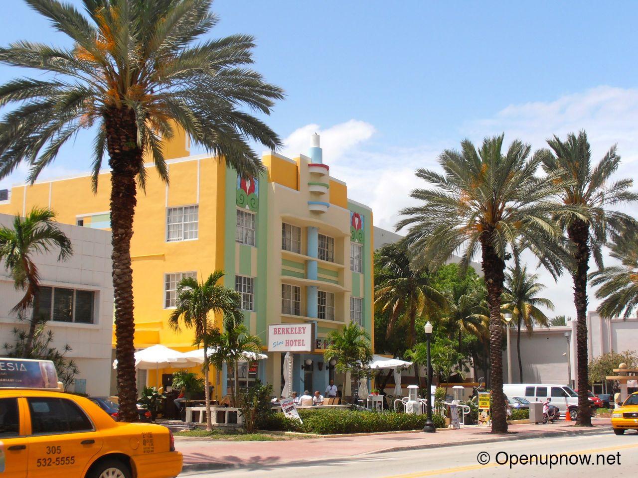 Berkeley Hotel in SoBe, Miami © Openupnow.net