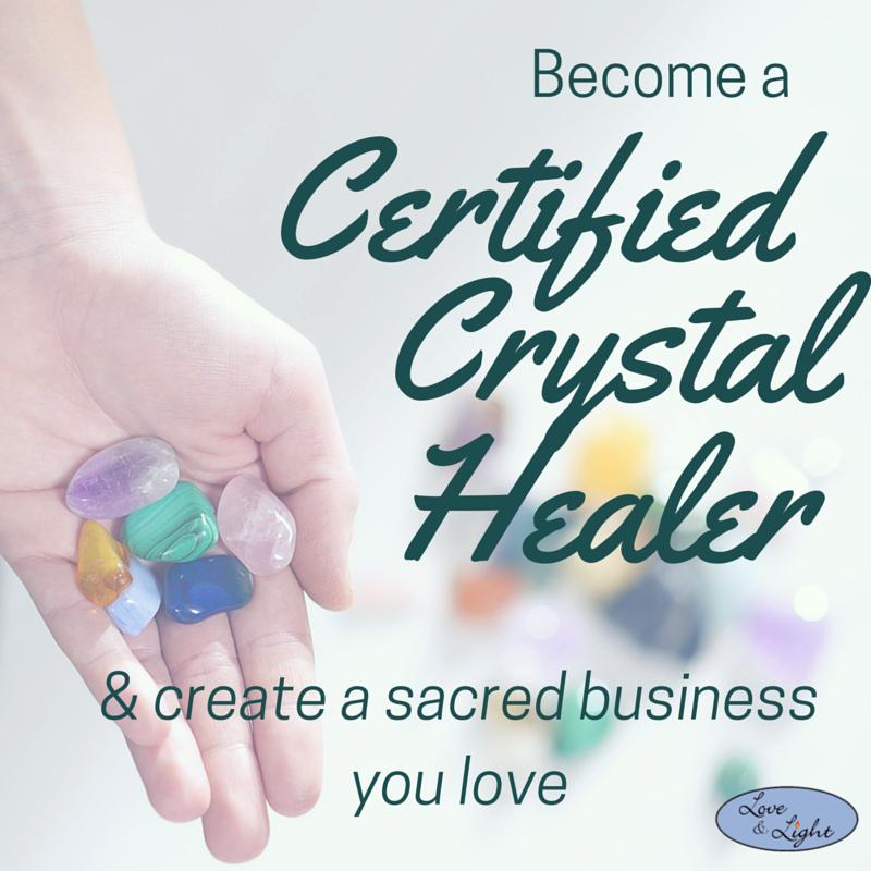 Crystal Healing Certification Program Create A Life Sacred