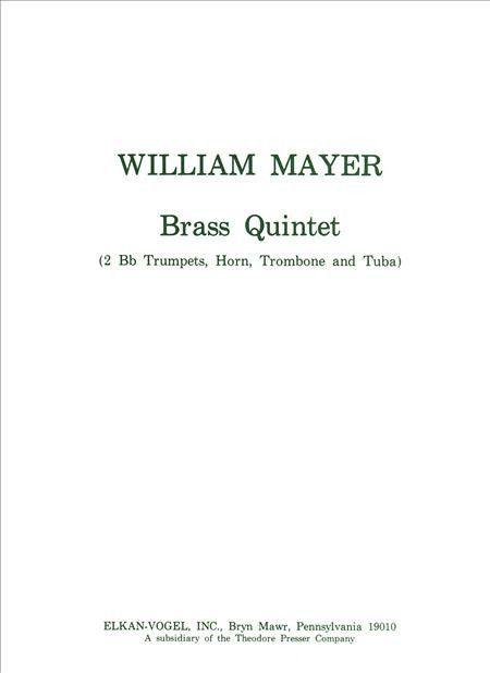 Brass Quintet (Score and Part(s))