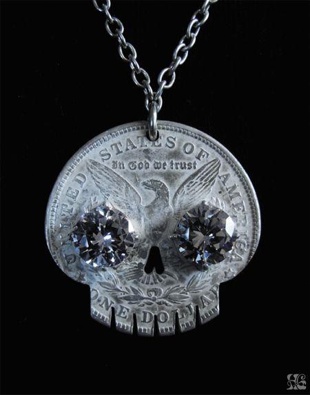 coin skull by joji kojima