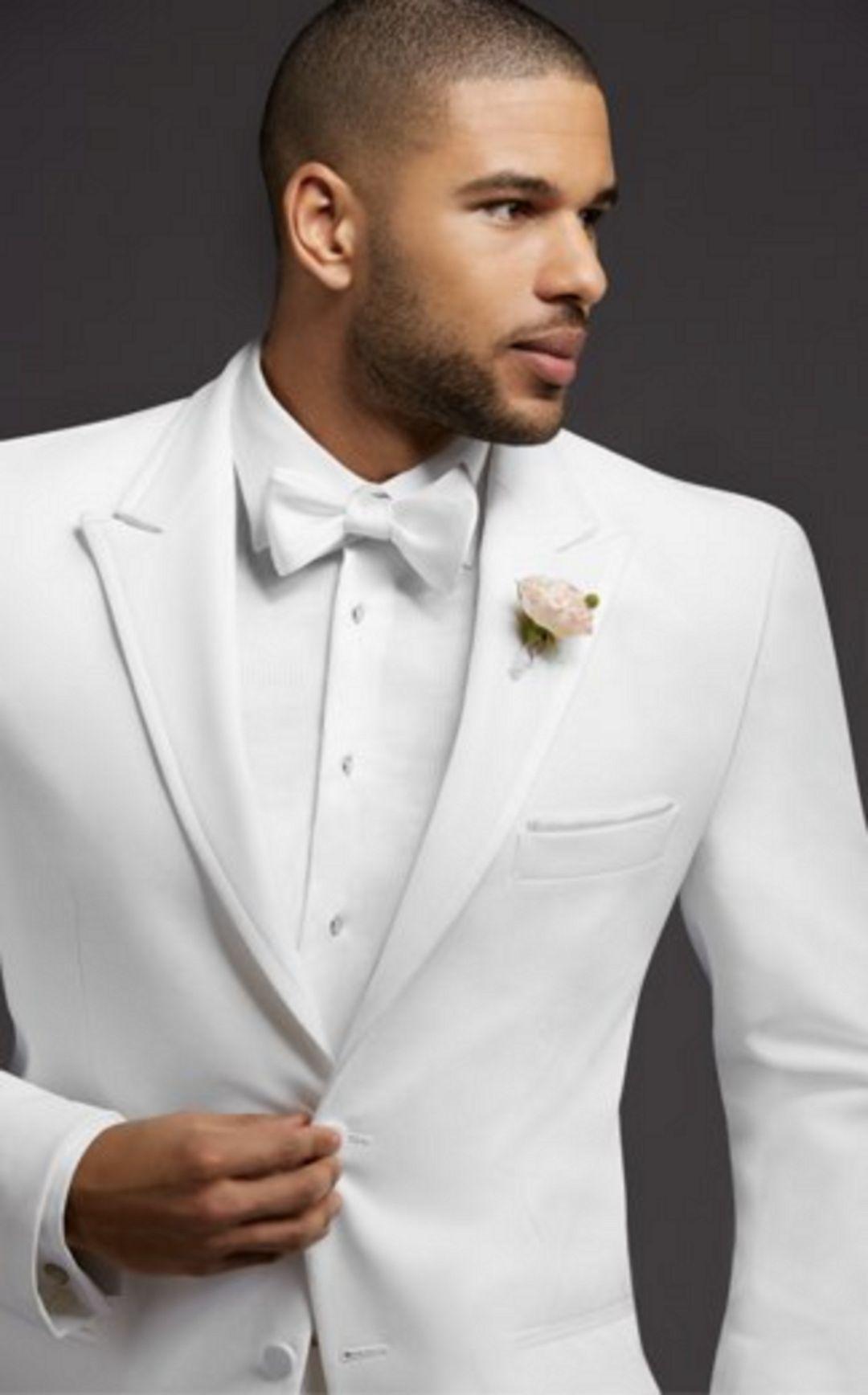 35+ Best White Tuxedo Ideas For Men Look More Handsome | White ...