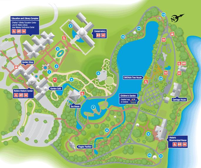 brooklyn botanic garden map Garden Map Lewis Ginter Botanical Garden Map Garden brooklyn botanic garden map
