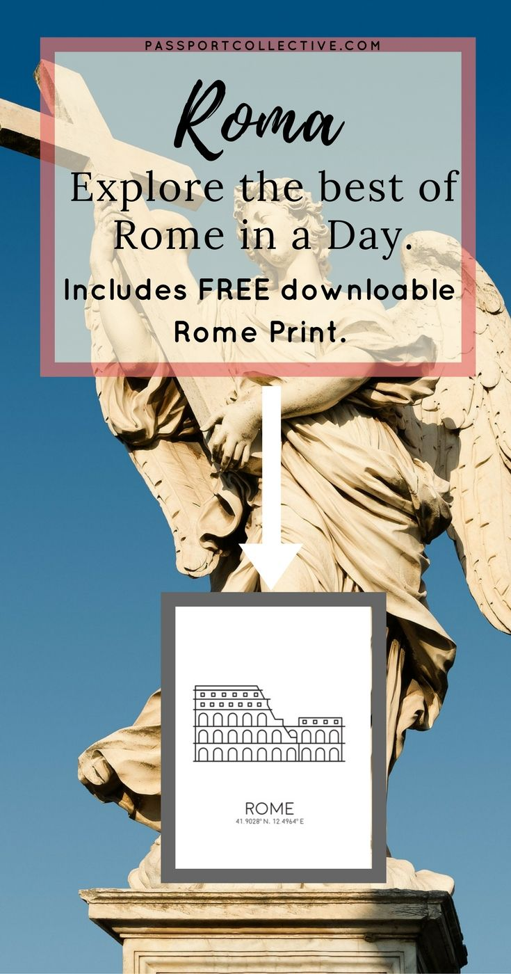 Passport Collective | Rome Guide | Travel Guide | Travel Tips | Travel Italy | City Guide
