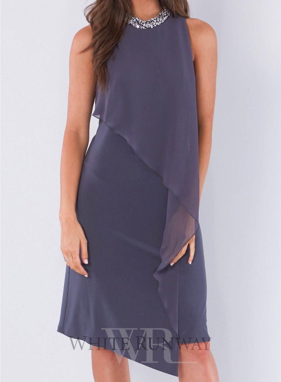 Marceline Dress. A stunning cocktail length dress by designer Mr K ...