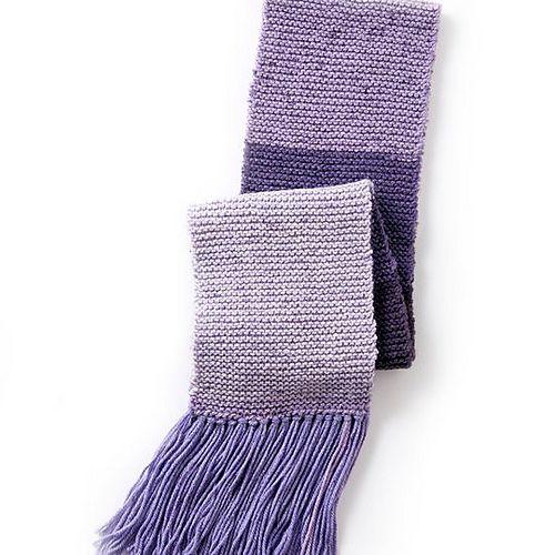 Ravelry Caron Cakes Basic Knit Scarf Pattern By Caron Design Team