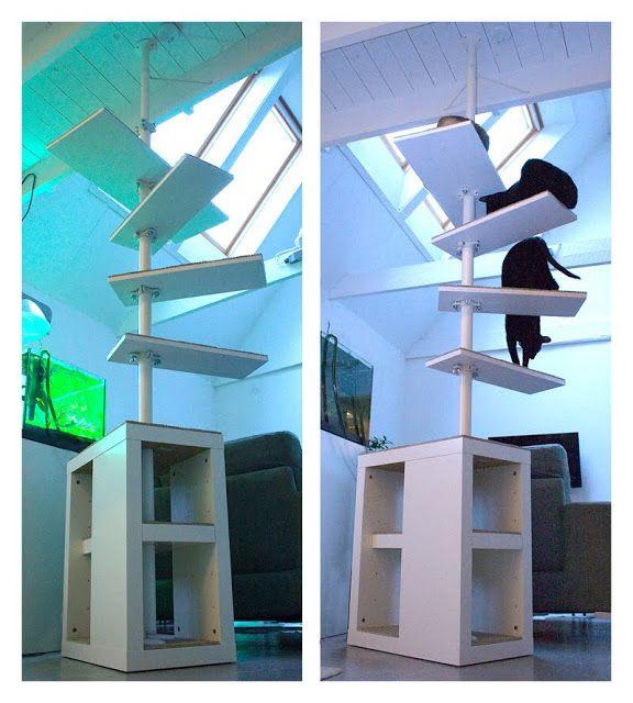 stolmen cat tree ikea hackers ikea hackers w koty. Black Bedroom Furniture Sets. Home Design Ideas