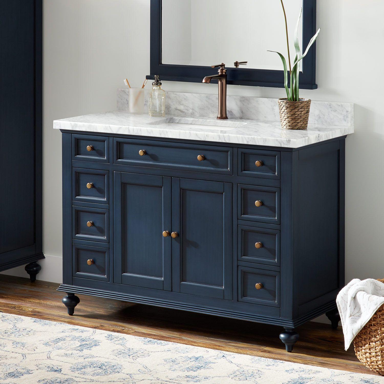 "48"" Keller Mahogany Vanity For Rectangular Undermount Sink"