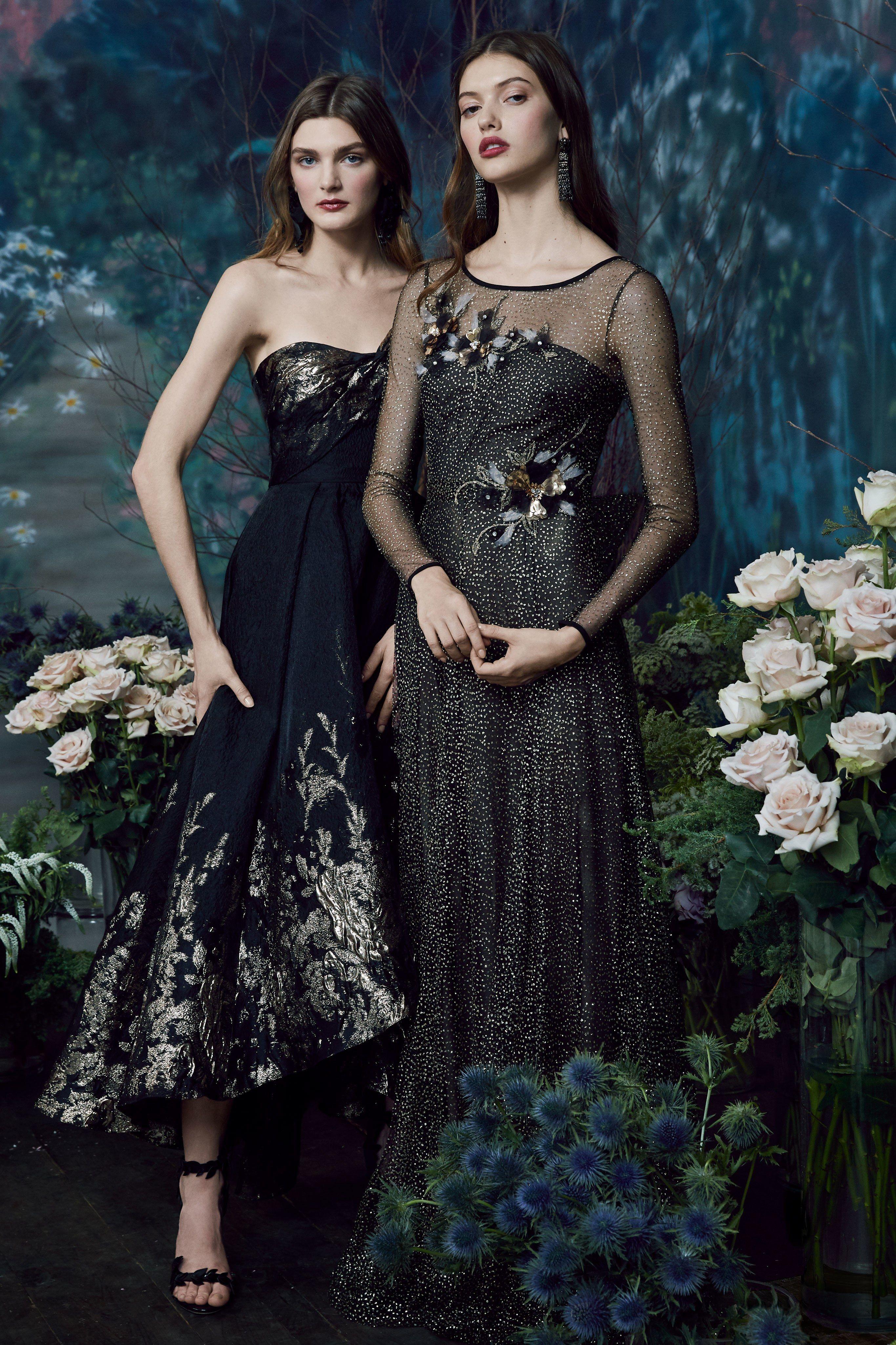 Marchesa Notte Pre-Fall 2019 Collection - Vogue Women s Fashion Dresses 0f9324811