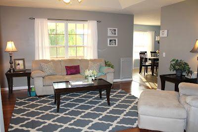 Aspen Gray By Valspar Wallcolor Grey Wall Color Living Room Grey Home Decor