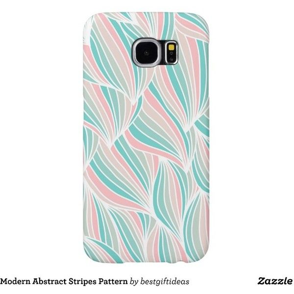 Modern Abstract Stripes Pattern Samsung Galaxy S6 Case (564.845 IDR) ❤ liked on Polyvore featuring accessories, tech accessories, stripe, pattern and samsung
