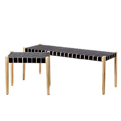 Strange Ravello Woven Bench Seat Ash Living Bench Furniture Machost Co Dining Chair Design Ideas Machostcouk
