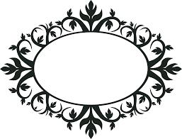 Imagem Relacionada Moldura Oval Arabescos Vetor Molduras Vintage