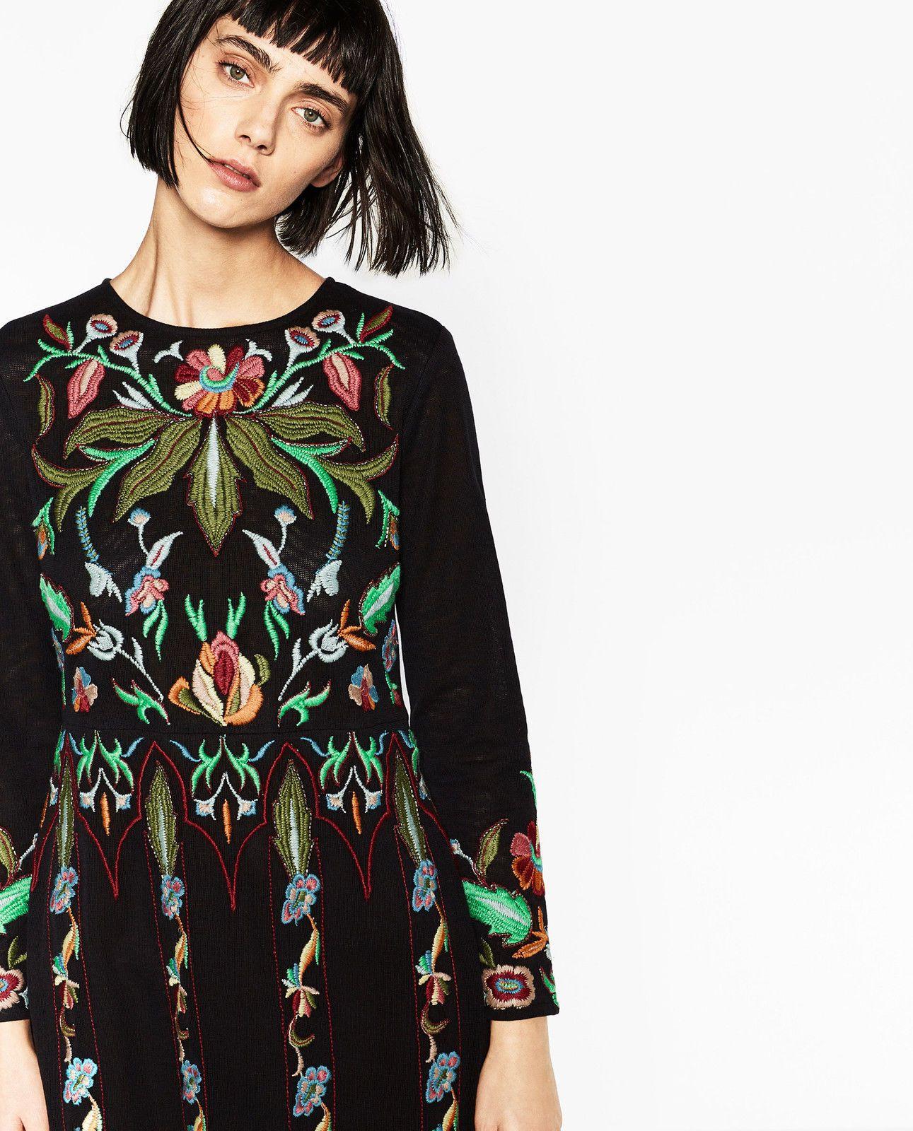 Spain Zara Floral Dresses Ebay 8d15a 0f411