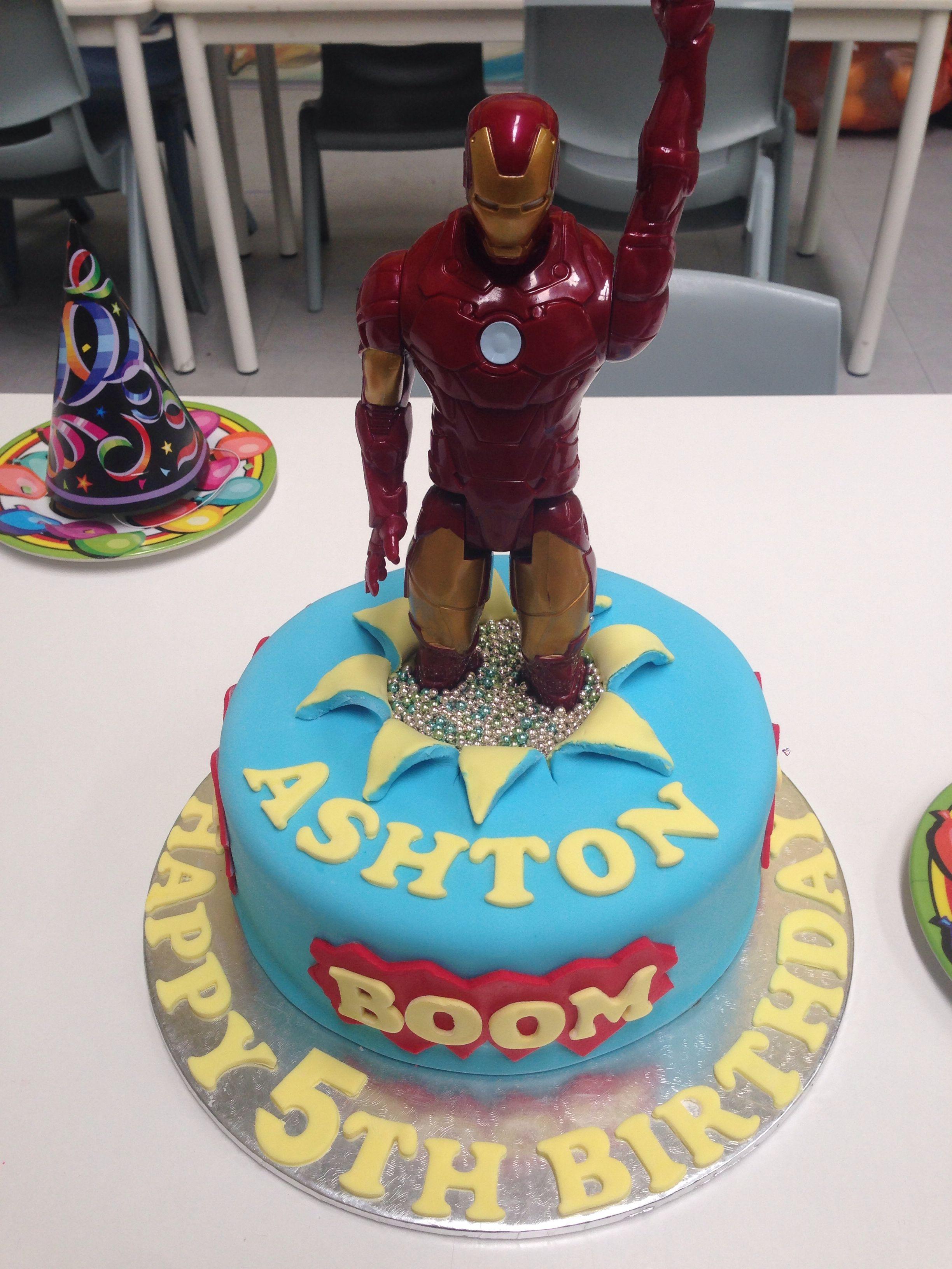 Iron man cake ironman cake cake cake design