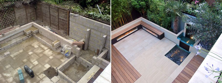 the before and after images of our garden design case studies demonstrate the scope of our modern transformations in this inspiring contemporary showcase