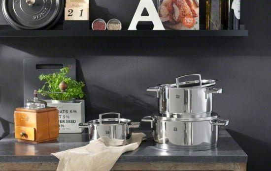 Zwilling Küchenhelfer ~ Zwilling passion das perfekte kochgeschirr zum kochen auf