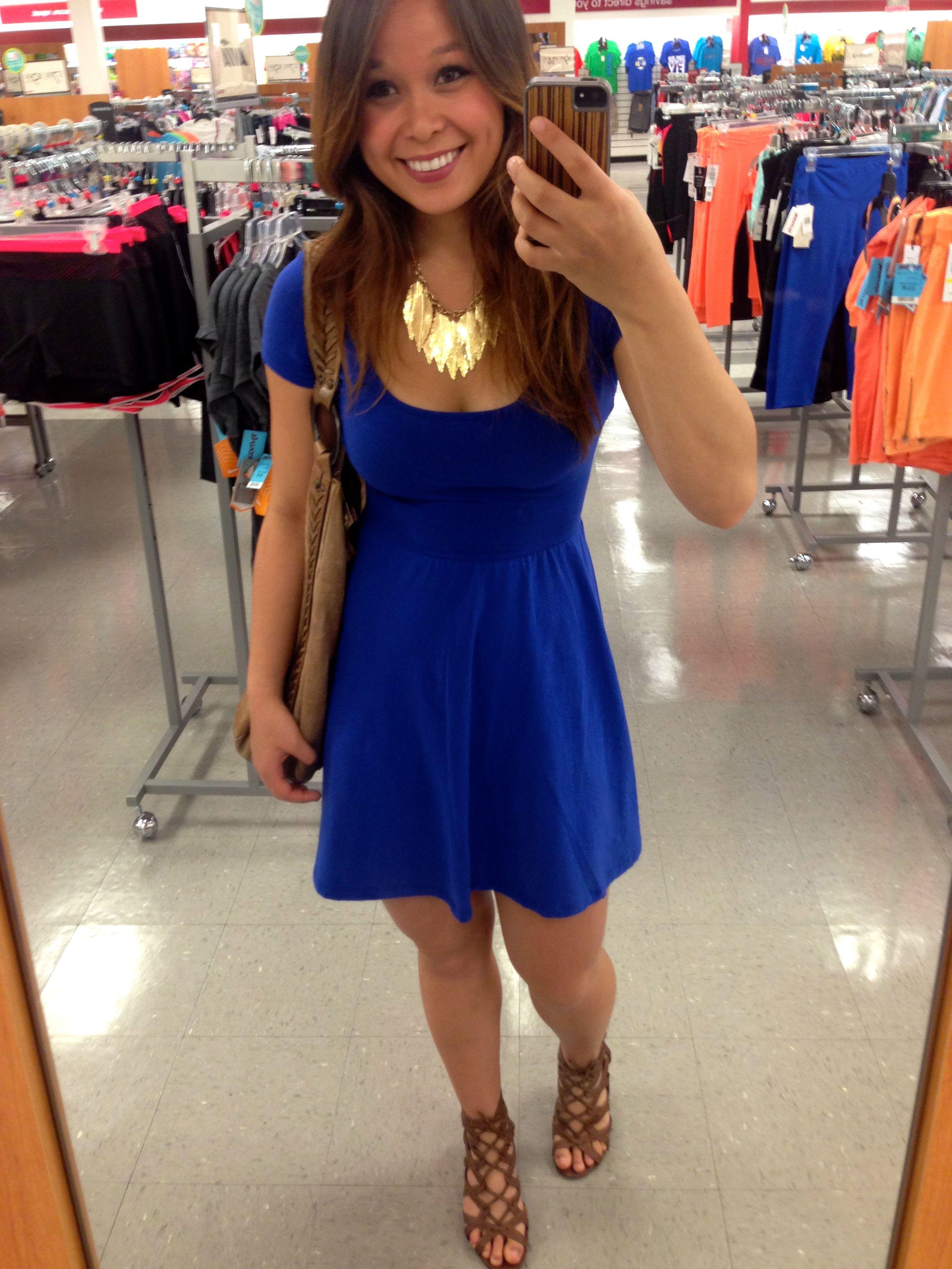 Blue dress dress pinterest