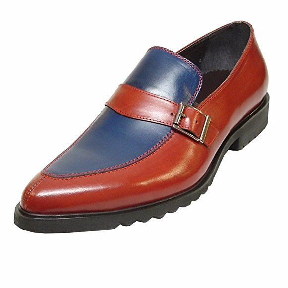 Encore Leather Monk straps – Men's Slip-Ons with Cushioned Insole  Trendy Shoes