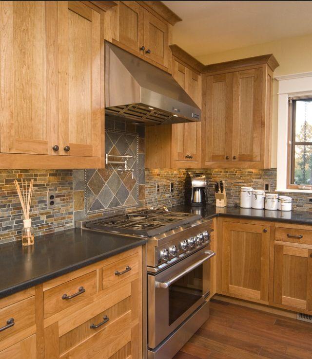 Natural Oak Kitchen Cabinets: Kitchen Remodel In 2019