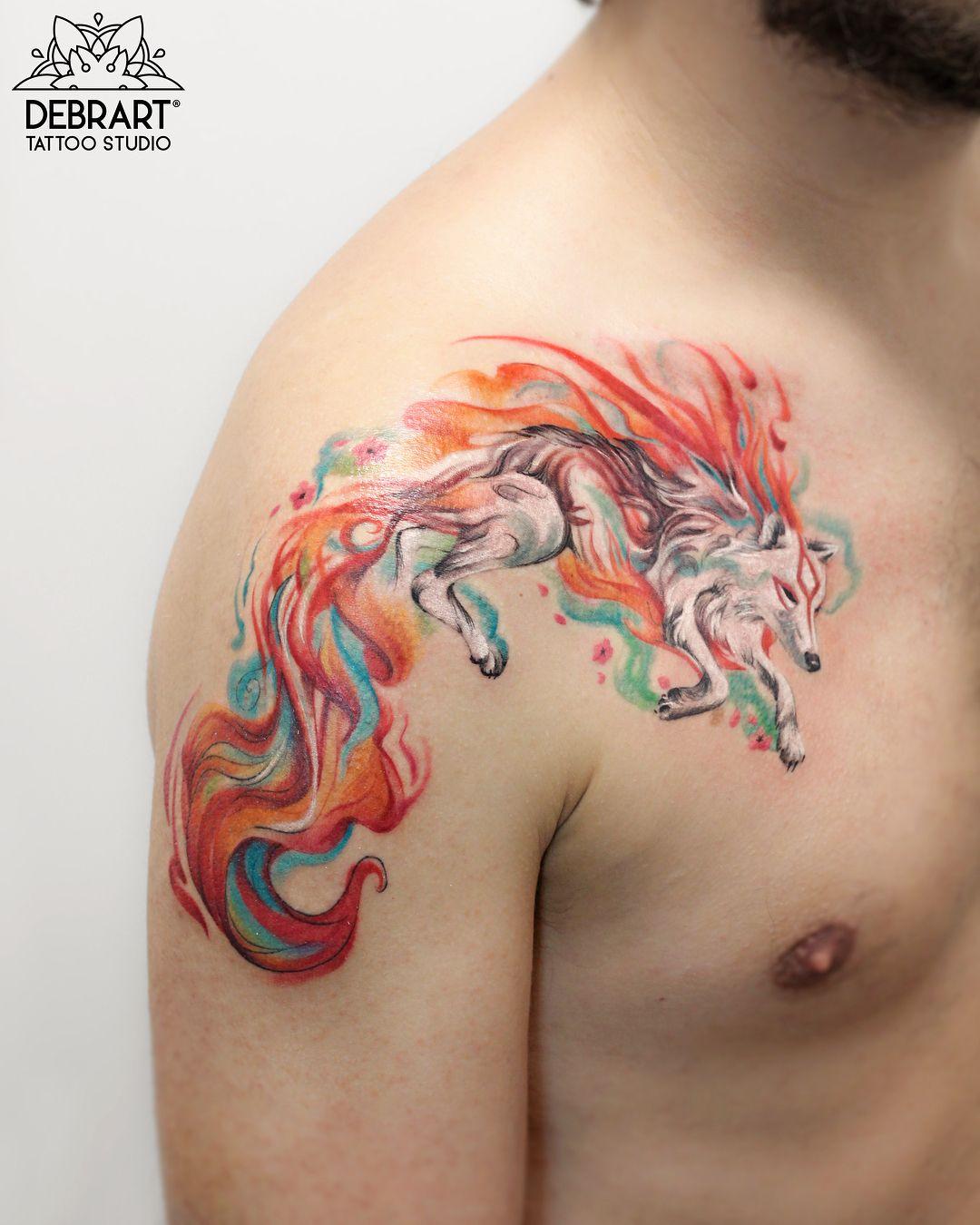 Deborah Genchi Tattoo Artist Debrartist Halfrealhalfdrawn