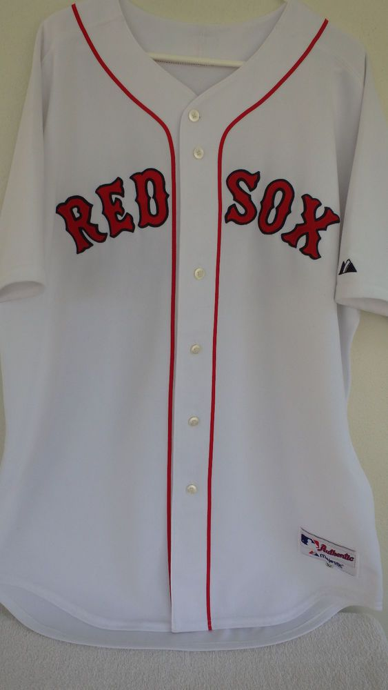 5400761e5a0 MAJESTIC DAVID ORTIZ  34 AUTHENTIC COLLECTION BOSTON RED SOX SZ52 STITCH  JERSEY  Majestic  BostonRedSox