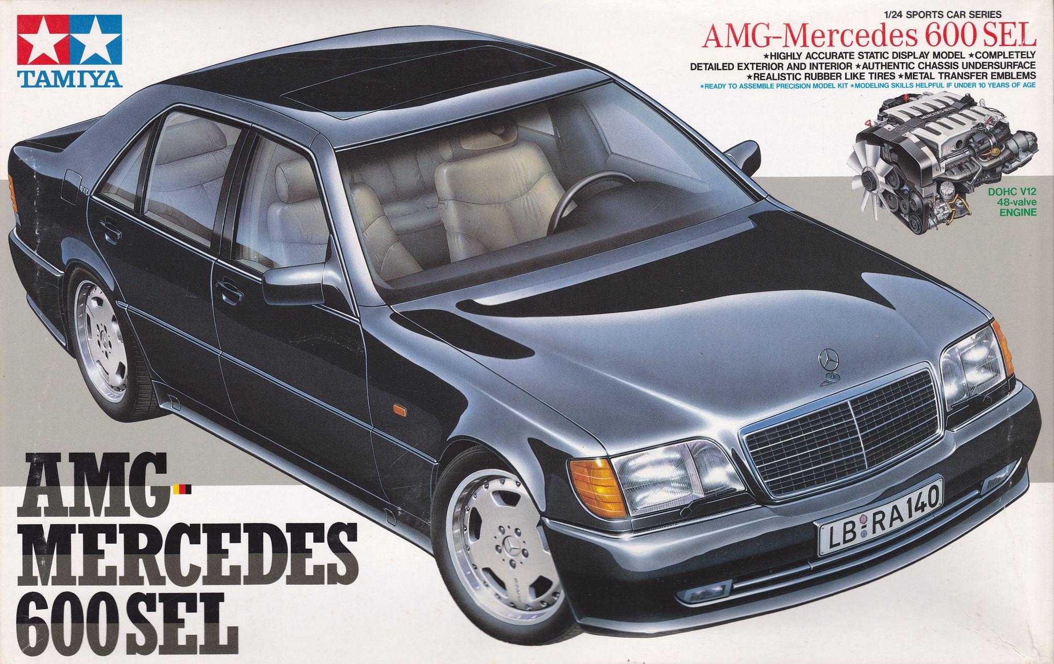 W140 Mercedes Benz 600 Sel S Class Amg