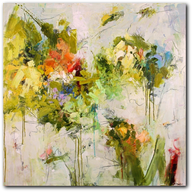 Abstract Artist Conn Ryder Abstract Paintings Colorado