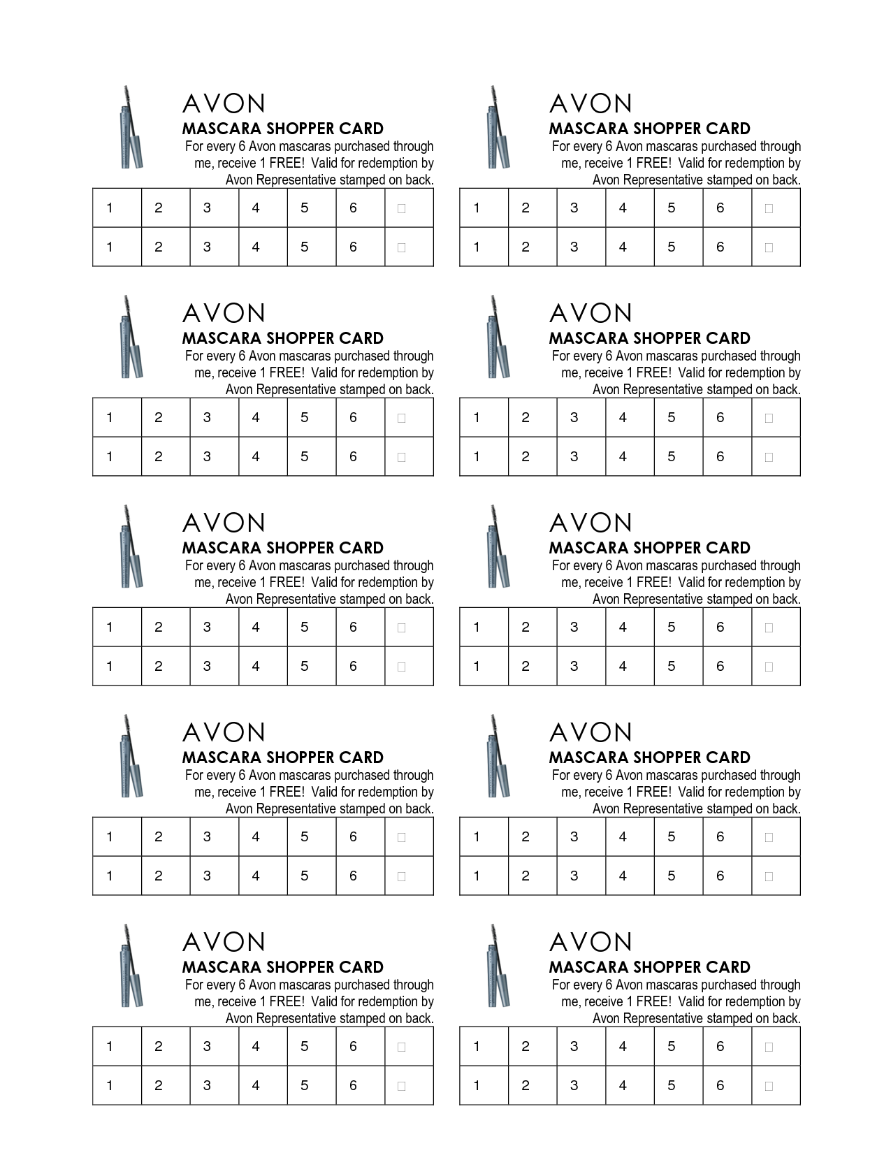 Avon Flyers Charts Avon For You By Donna Pinterest Avon