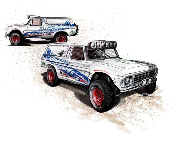 Bronco Rendering