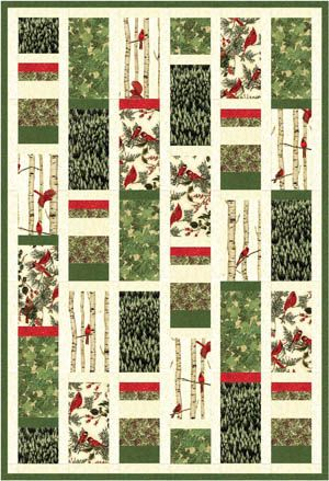 Quilt Inspiration: Free pattern day: Woodsy Winter quilt | Free ... : free quilt patterns for men - Adamdwight.com