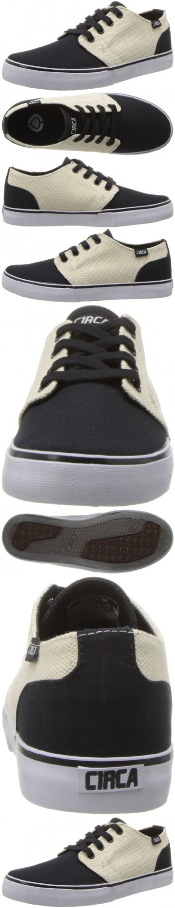 C1RCA Men's DRF Fashion Sneaker,Black/Hemp,5.5 M US
