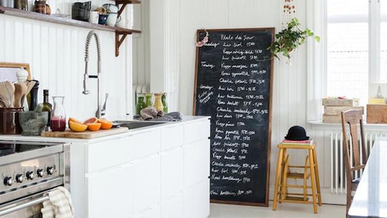 Schoolbordverf De Keuken : Best keuken images kitchen dining kitchens and