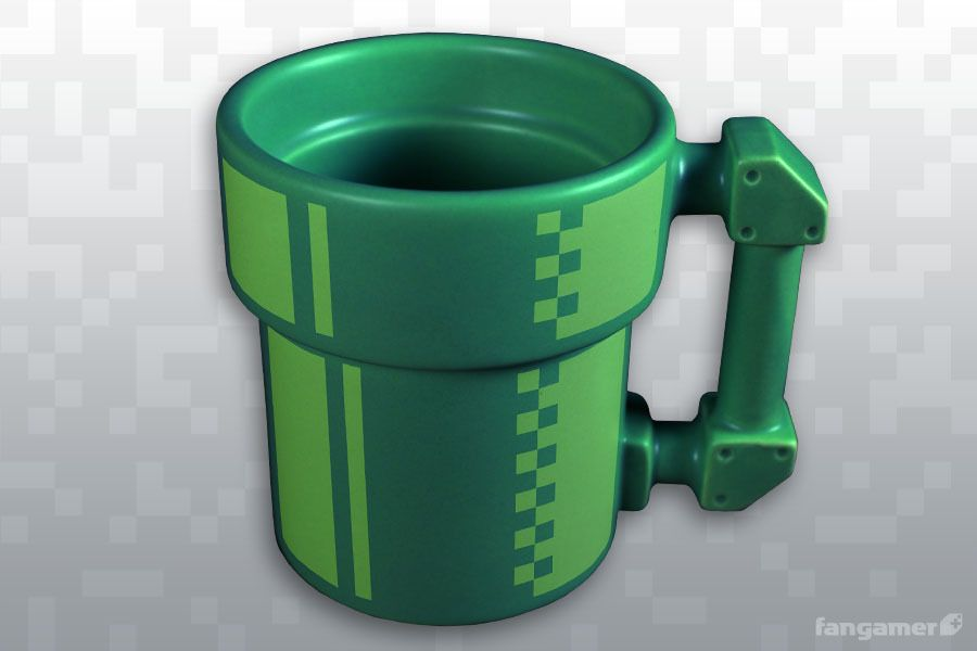 Pipe Mug by Jon Kay and available on Fangamer