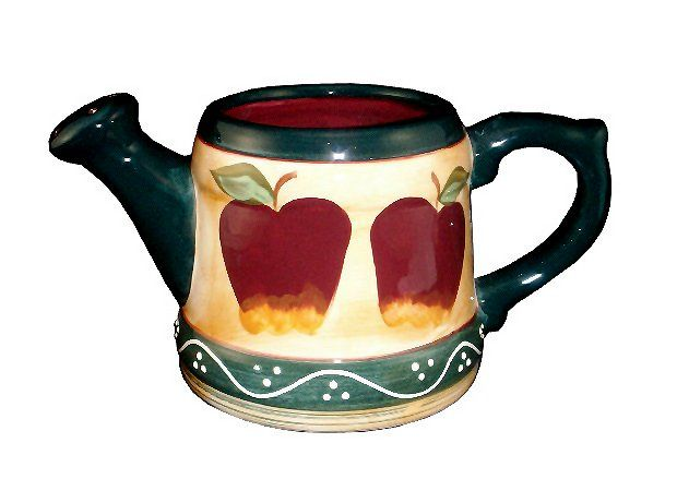 Image detail for -... USA TICO DECORATIONS-FLOWER VASE, COUNTRY APPLE DECOR CERAMIC