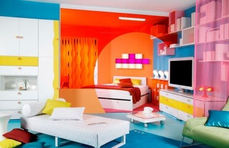 Design int rieur color e d coration de chambre ados for Dec design interieur