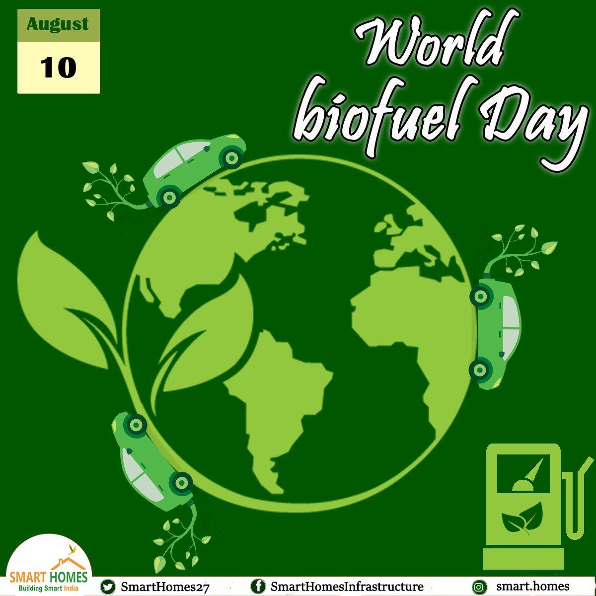 Get Biofuel…..Happy World Biofuel day!! Renewableenergy