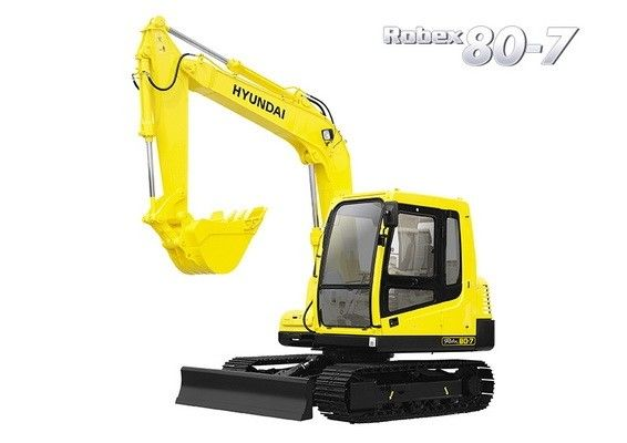 Hyundai R80 7 Crawler Excavator Service Manual Hyundai Construction Equipment Manual