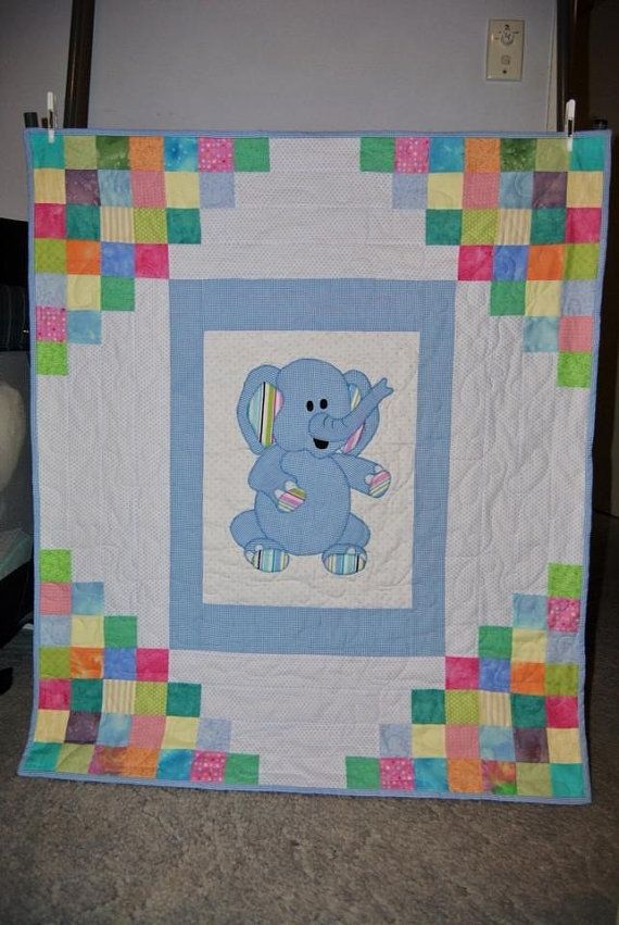 Kinder Quilt Patronen.Like The Design Around The Applique Quilt Patturns Quilts