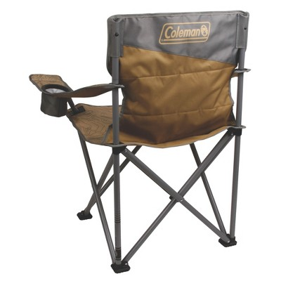 Prime Coleman Oversized Big N Tall Quad Camping Chair With Phone Ibusinesslaw Wood Chair Design Ideas Ibusinesslaworg