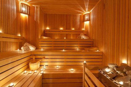 how to build a basement sauna doityourself com sunflower home rh pinterest com