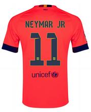 14 15 Football Shirt Barcelona Cheap Neymar Jr 11 Away Pink Jersey 107 Barcelona Jerseys Soccer Jersey Jersey