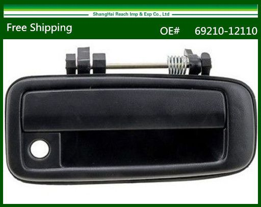 New Black Outside Exterior Door Handle For Toyota Corolla 1988 1992 Front Right Oe 69210 12110 6921012110 Exterior Door Handles Exterior Doors Door Handles