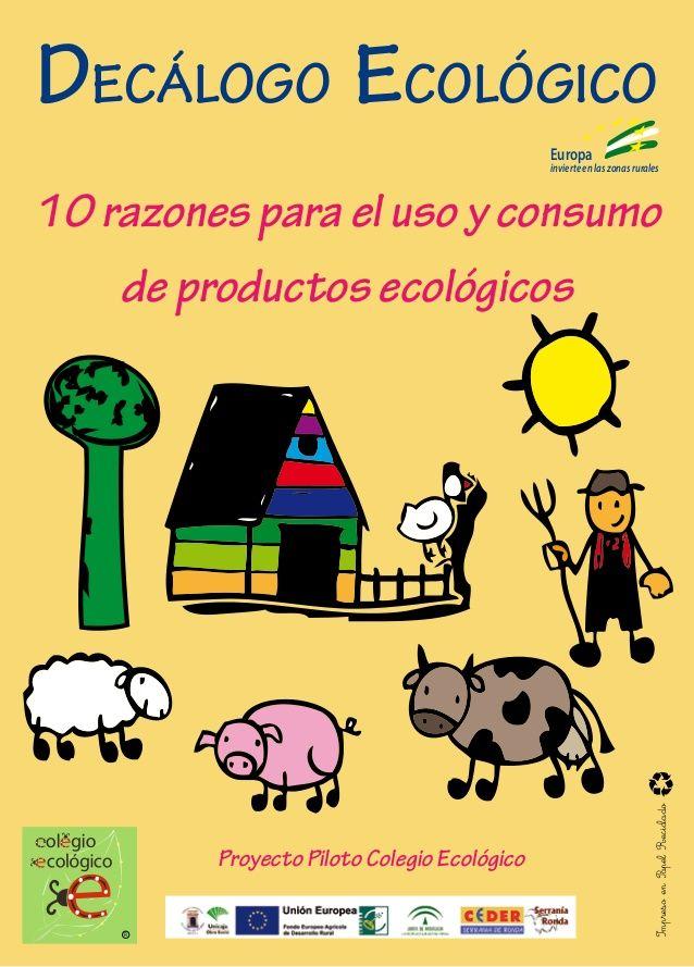 Decalogo Ecologico Decalogo Cuidado Del Medio Ambiente Medio
