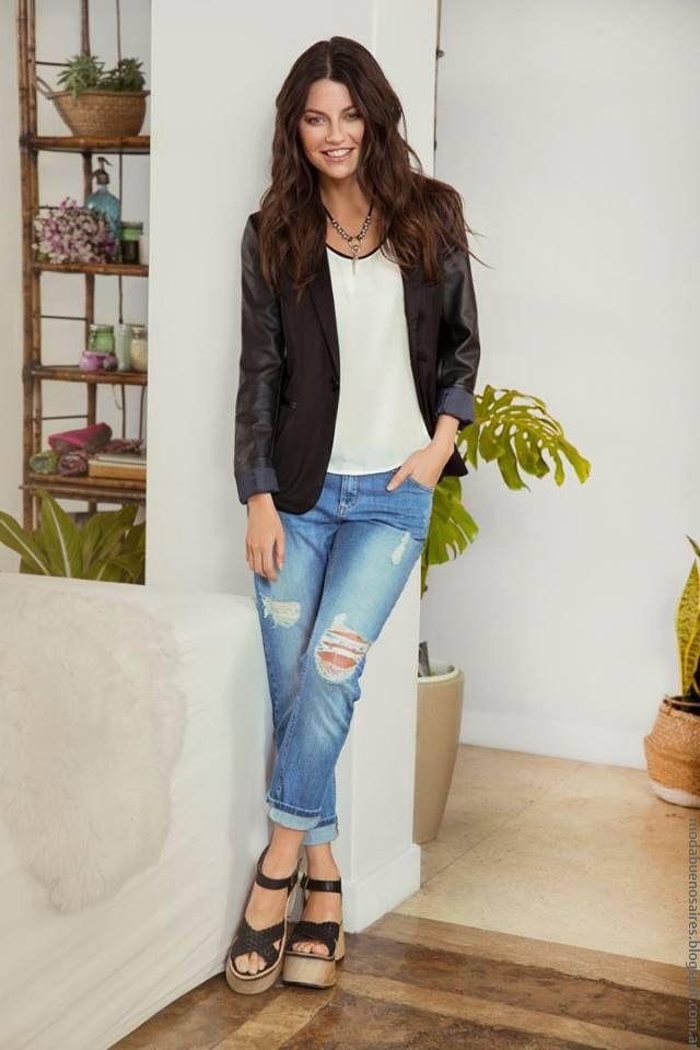 Moda Urbana Primavera Verano 2017 En Ropa De Mujer By Peuque Jeans